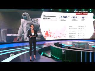 Телеведущая НТВ в прямом эфире заявила о более 40000 погибших от COVID-19 в РФ Рифмы и Панчи
