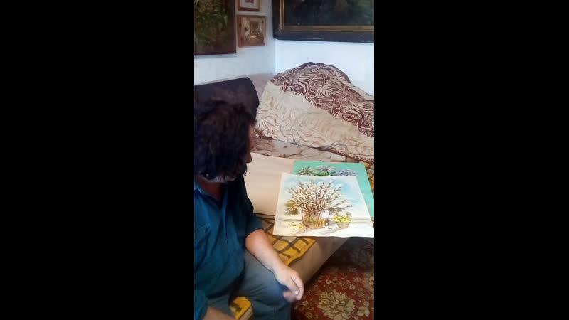 Александр Мицник в 17 00 матер класс как натянуть холст на подрамник и загрунтовать чтобы писать масляными красками