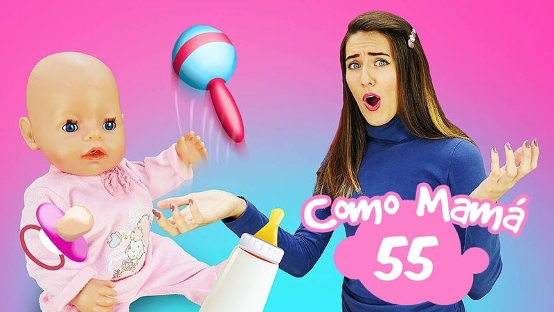 Un jarabe de menta para Amelia La muñeca bebé Baby Born Vídeos para niñas