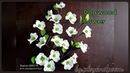 EP135 : Dogwood flower/hanamizuki How to make nylon by ployandpoom(ผ้าใยบัว)