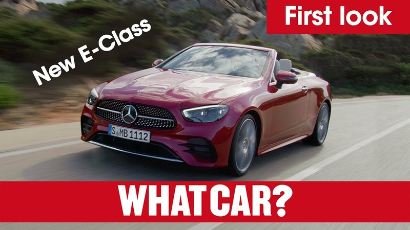New 2020 Mercedes E Class revealed full details on saloon estate cabriolet coupe What Car