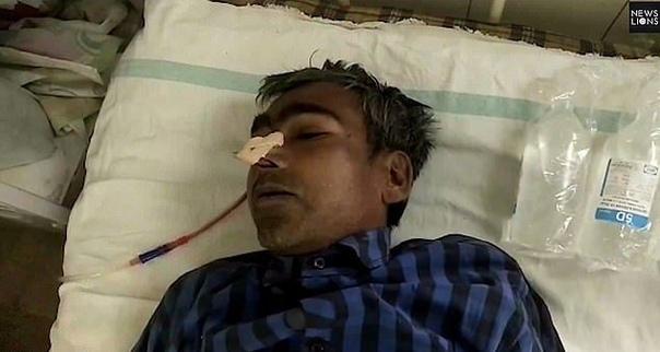 Из 43-летнего мужика достали 116 гвоздей В больницу индийского штата Раджастхан доставили 43-летнего Бхола Шанкар, страдающего от сильных болей в животе. Оно и не удивительно - рентген показал