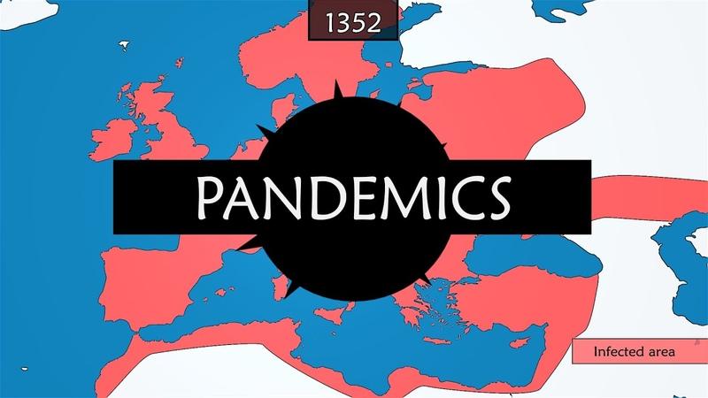 History of major epidemics and pandemics