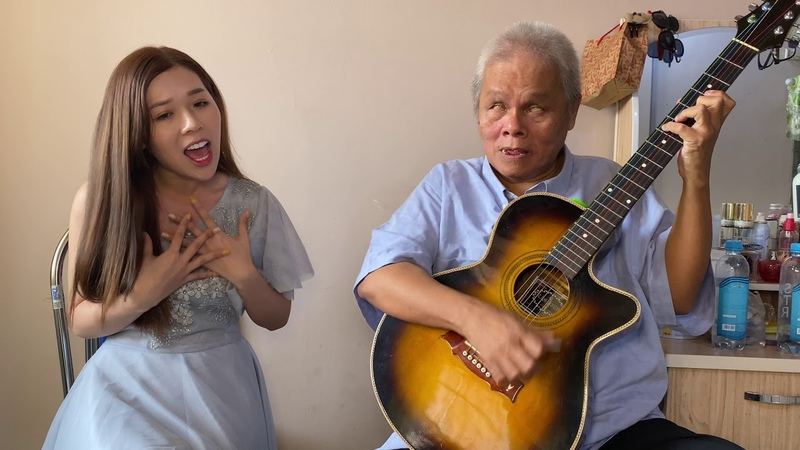 Love Theme from Titanic Cover My Heart Will Go On Nguyễn Kiều Oanh Thanh Điền Guitar