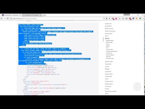 Html css interactive. 7.4 Практическое применение Bootstrap