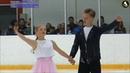Angelina Zimina Aleksandr Gnedin RD Moscow Jr Championships 2019