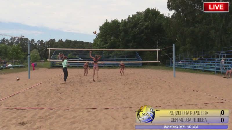 Родионова Наталья Королева Ирина Лешова Олеся Свиридова Ирина MVP Women 11 07 2020