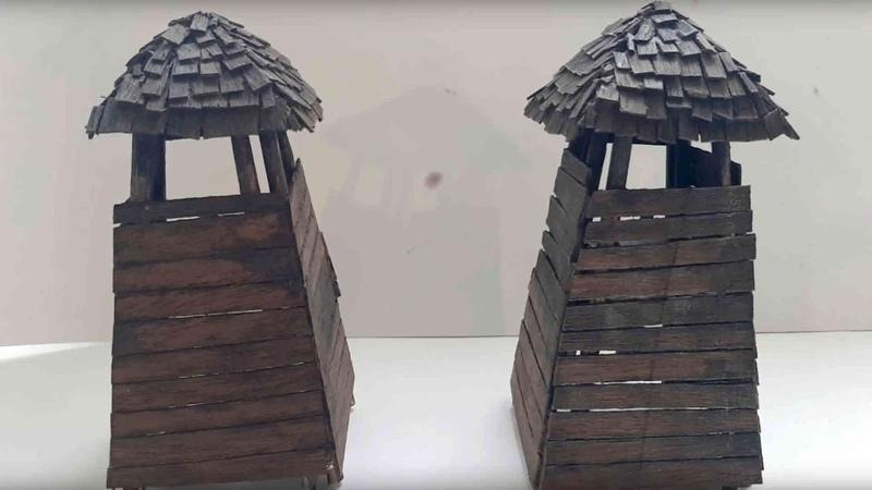 Создание диорамы «Башня заставы»