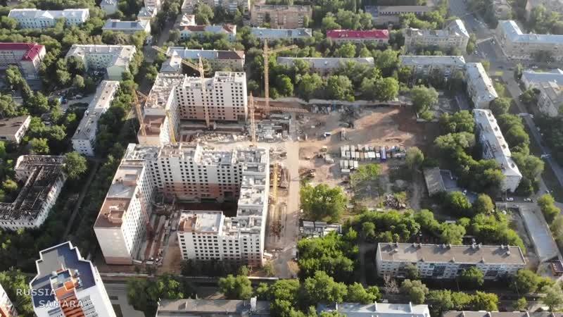 Строительство многоэтажек на Панова