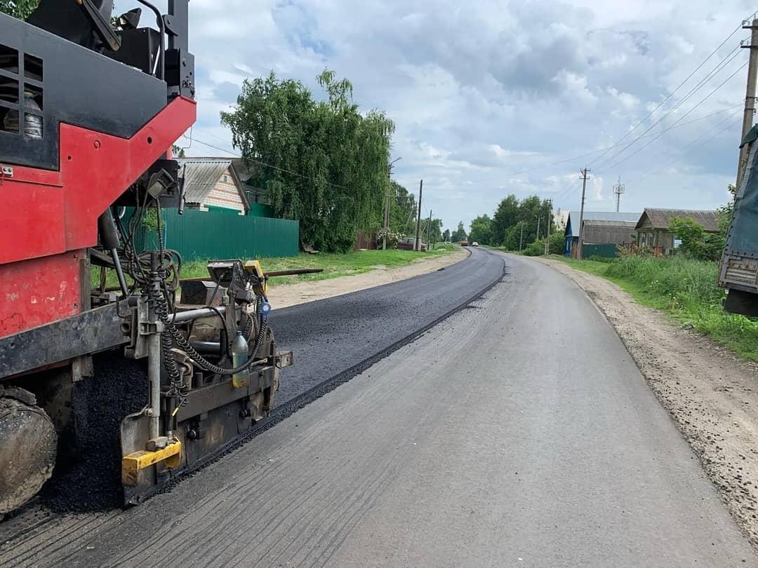 В Петровске продолжается ремонт проезжей части городских улиц Мичурина и Гоголя