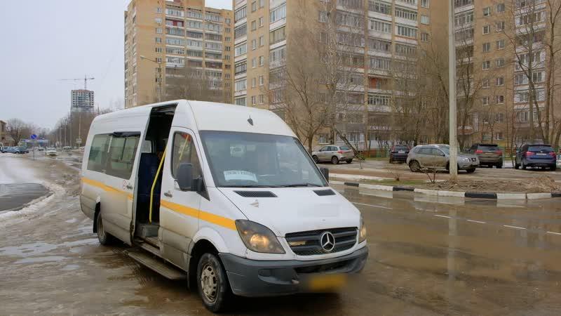 2020 02 21 Микроавтобус от Женской консультации в роддом города Долгопрудный