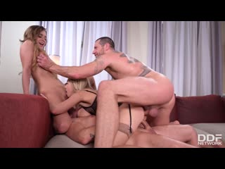 Josephine Jackson, Siya Jey - Two Babes In Hardcore DP Action - Porno, Anal, DP, Big Tits, Gonzo, Blonde, Swinger, Porn, Порно