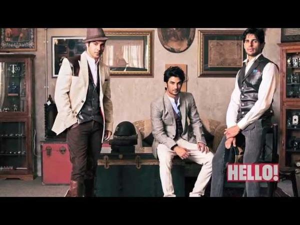 HELLO Brat pack Varun Dhawan Sushant Rajput and Siddharth Malhotra