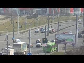 В Бресте на ул. Московской автомобиль сбил пешехода