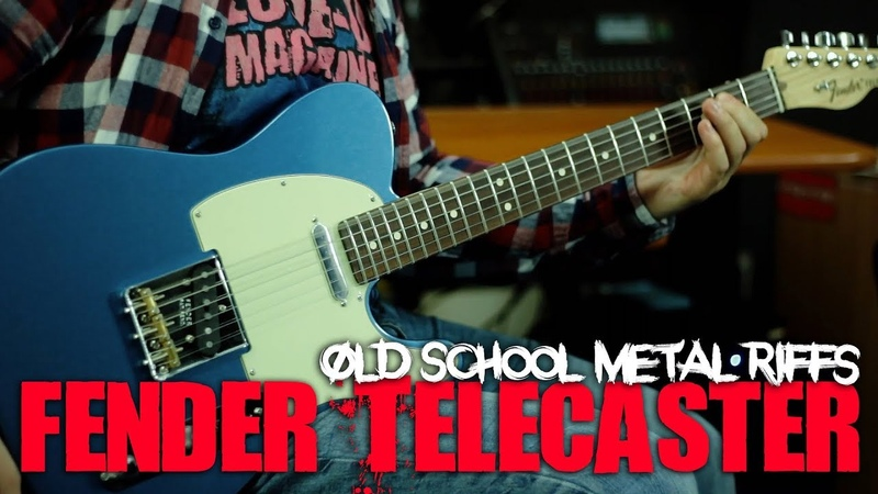 Can TELECASTER do metal Old School Metal Riffs on Fender American Special Tele