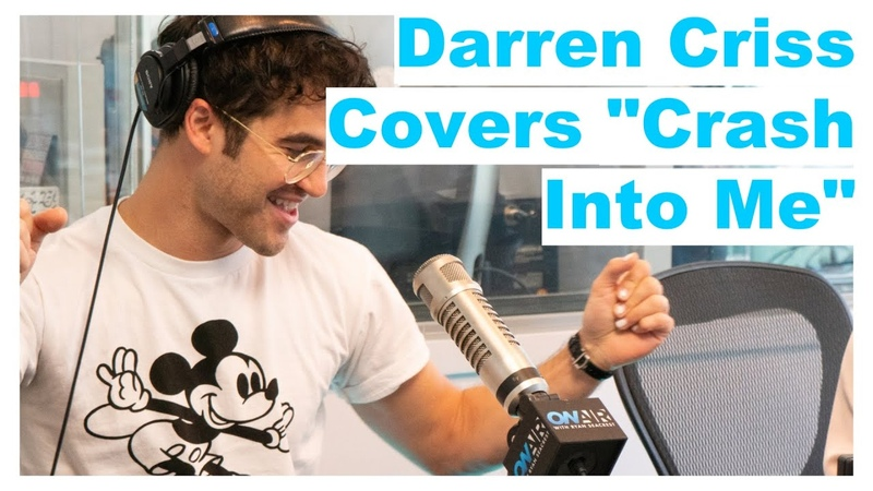 Darren Criss Covers Crash Into Me With Steve Aoki   On Air With Ryan Seacrest