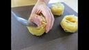 Утрамбовываем фарш в гнезда и добавляем зеленый горошек Сытное и вкусное блюдо для всей семьи