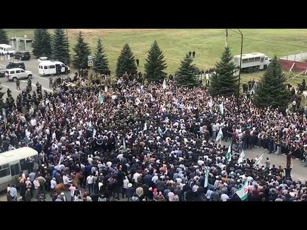Приграничный конфликт в Ингушетии сможет ли народный протест вернуть отданные Чечне территории