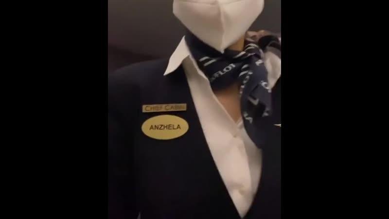 Наталья Рагозина устроила скандал из за маски на борту Аэрофлота