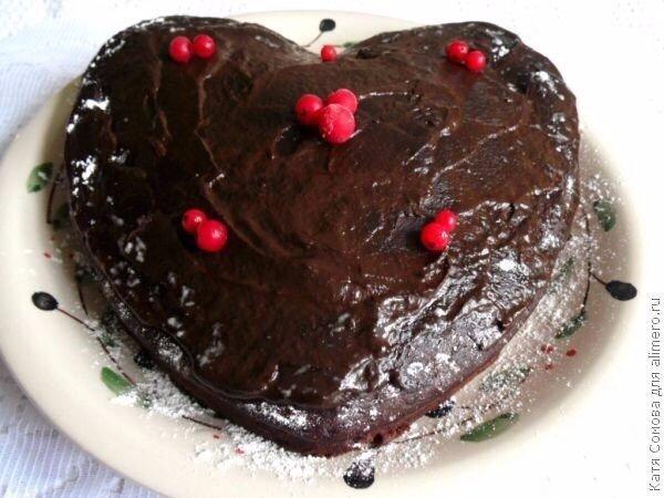 Самый вкусный Влажный шоколадный торт-пирожное