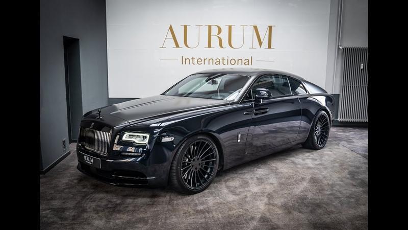 ROLLS ROYCE WRAITH BLACK BADGE Sapphire Black * Starlight * Walkaround in 4k by AURUM International