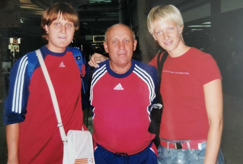 С будущими чемпионками мира Натальей Шипиловой и Надеждой Муравьевой