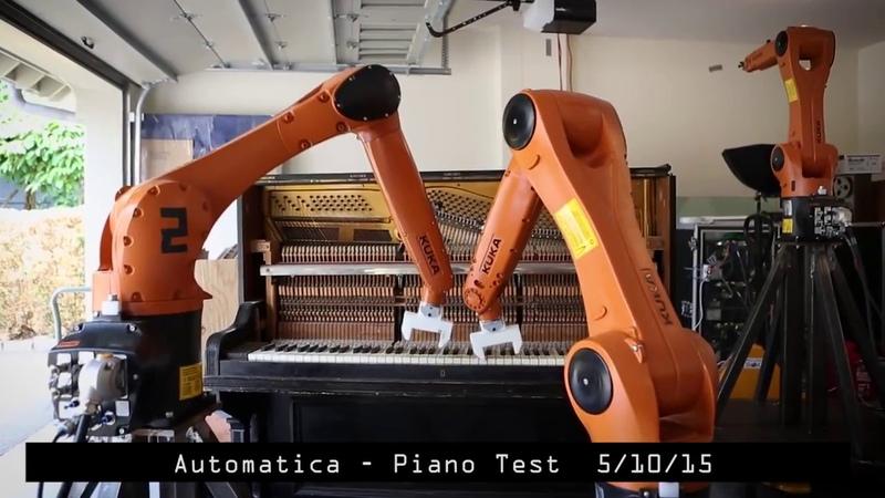 Приятная реклама роботизированных систем Kuka