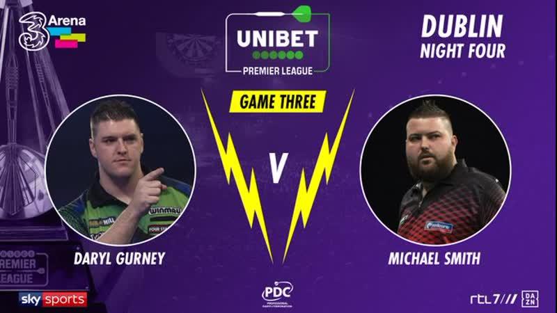 Michael Smith vs Daryl Gurney Night 4 Dublin