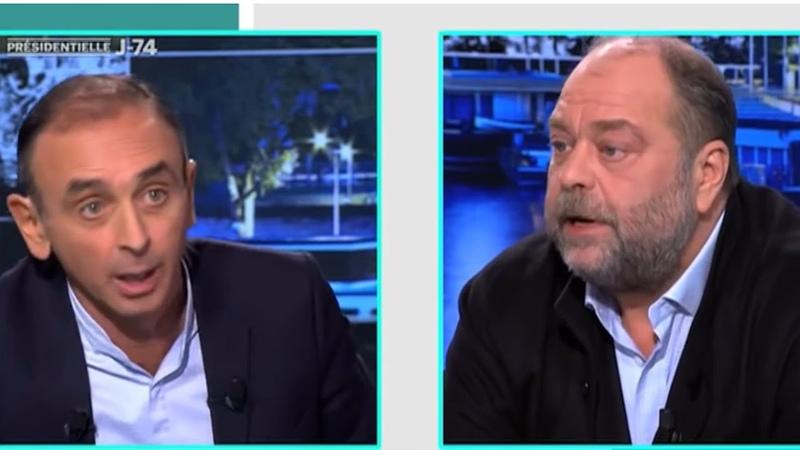 L'énorme clash Éric Zemmour vs Éric Dupond Moretti nommé ministre de la Justice sur l'immigration