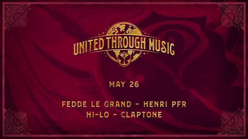 United Through Music Week 8 Tomorrowland