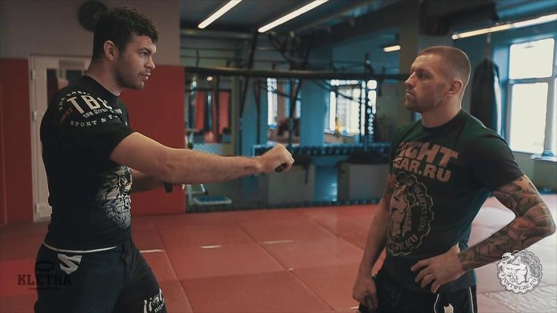 Как развить выносливость рук и плеч в боксе Тренировка боксера от Андрея Басынина и Артема Левина