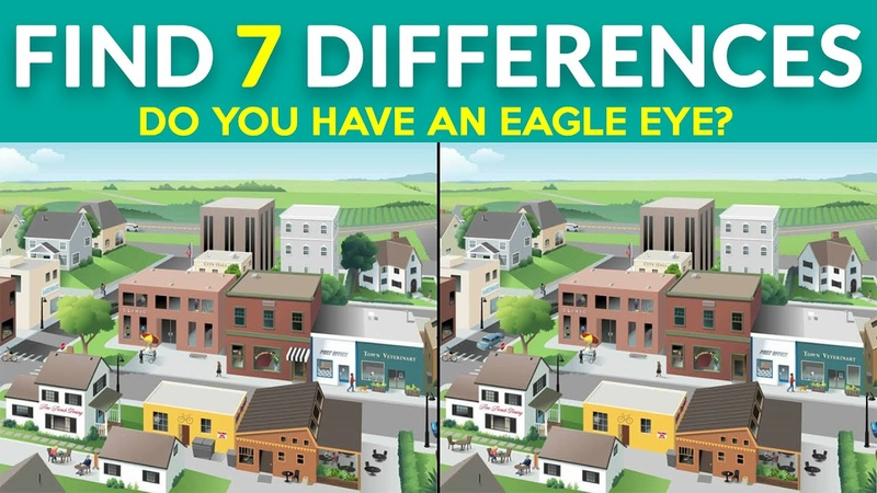 Do You Have An Eagle Eye | Find The Differences | 100 Fail | Level Hard Puzzle 5