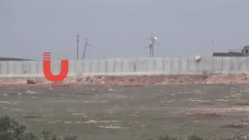 بالفيديو خاص كاميرا يونيوز ترصد نقطة المراقبة التركية بالقرب من خانطومان في ريف حلب ال mp4
