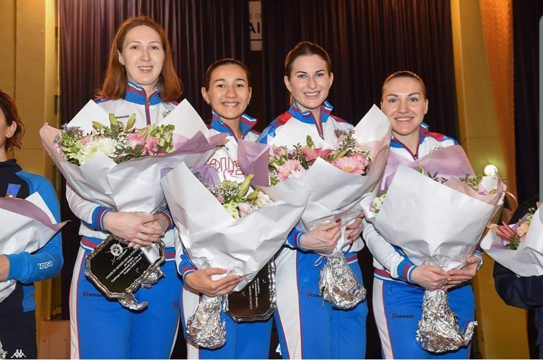 Инна Дериглазова помогла сборной России завоевать «золото» Кубка мира