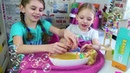 БАРБИ В СПА САЛОНЕ И ДВЕ БАРБИ С МАЛЫШАМИ Дарина и Соня открывают игрушки Барби куклы