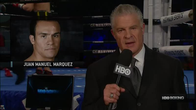 Juan Manuel Marquez - Mike Alvarado Хуан Мануэль Маркес - Майк Альварадо