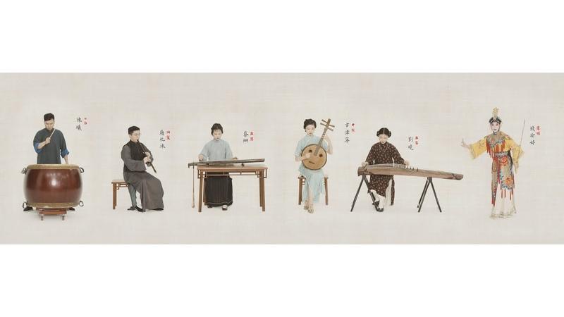 原创曲 《虞姬》 Original music 'Yu Ji': A desperate love story-Farewell my love.〖琴Guqin箫阮筝鼓X昆腔X剑舞〗民国装束
