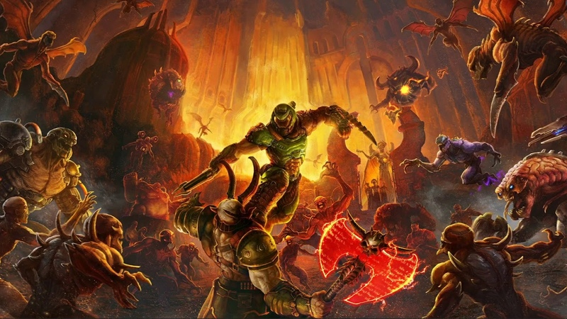 Mick Gordon The Only Thing They Fear Is You DOOM Eternal OST