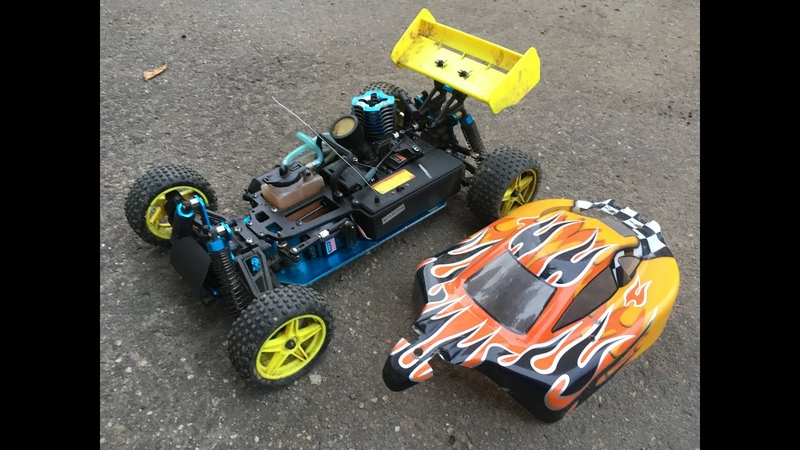 HSP Nitro 1 10 scale Buggy 2 speed