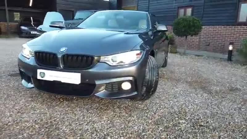 BMW 4 Series 435d XDrive M Sport 2dr Coupe Automatic 2016 in Mineral Grey Virtu