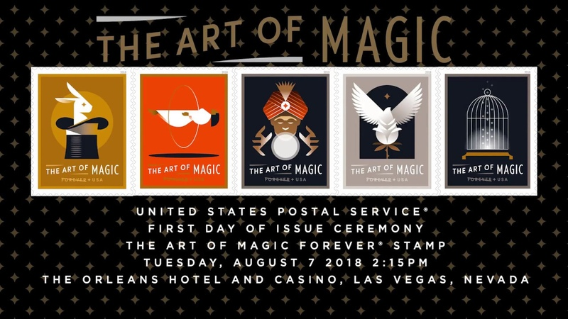 Art of Magic Forever Stamp First Day of Issue Ceremony