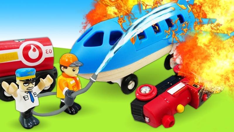 Neue Abenteuer aus der Brio Stadt 4 Folgen am Stück Tolle Spielzeuge aus Holz