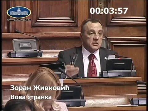 12 02 2016 Živković Milan Nedić je sramota srpskog naroda