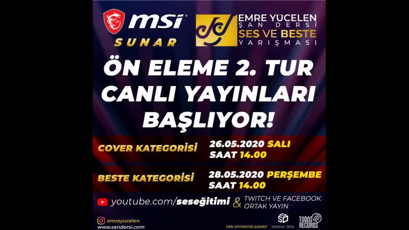 SES VE BESTE YARIŞMASI - COVER KATEGORİSİ ELEMELERİ 2.TUR SALI 1400
