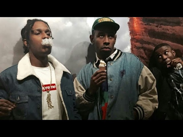 Tyler The Creator and A$AP Rocky bullying each other for 6 minutes straight