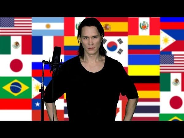 Singing 20 National Anthems Metal Medley