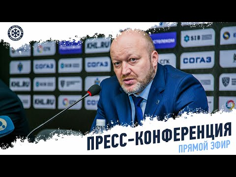 Сибирь Cпартак Послематчевая пресс конференция