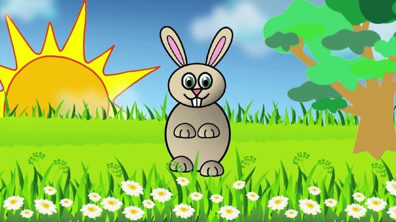 Заинька попляши Русская народная мульт потешка Russian funny song about bunny Наше всё