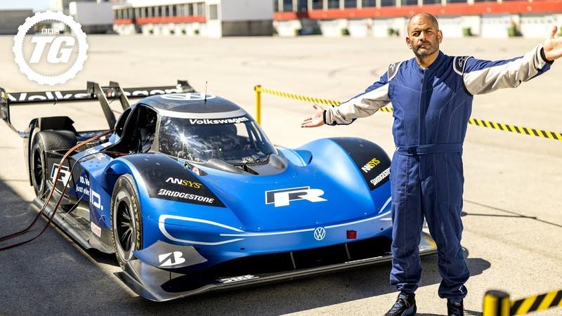 FASTER THAN AN F1 CAR Volkswagen I D R vs Chris Harris EXTENDED Top Gear Series 28