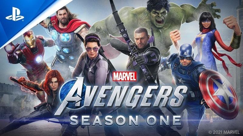Мстители Marvel Сюжетный трейлер версии нового поколения PS5